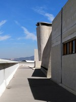 Marsiglia, La Cité radieuse, il tetto 2