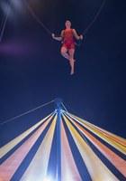 L'insegnante di trapezio del Cirque du Soleil © Michel JULIEN