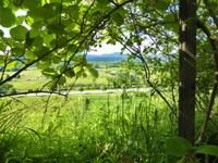 Lauris, Couleur Garance, valle della Durance vista dal giardino
