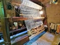 Le Barroux, antico telaio per la lana