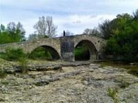 Via Domizia, arcate del ponte romano, Mane © ADT04