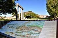 Via Domizia, colonne a Riez-la-Romaine, tavola illustrativa © ADT04