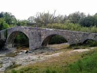 Via Domizia, ponte romano, Mane © ADT04