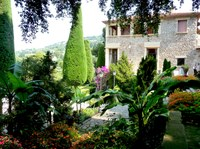 Cannes, Villa Domergue, uno scorcio del giardino