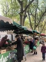 Aix-en-Provence, al mercato © Sonia Gonzini