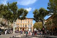 Aix-en-Provence, Cours Mirabeau © Sophie Spiteri