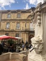 Aix-en-Provence, la piazza del Municipio © Sonia Gonzini
