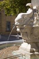 Aix-en-Provence, Place des 4 Dauphins, la fontana © Sophie Spiteri