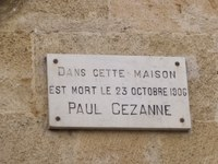 La targa al 3 di Rue Boulegon - Immagine di Elliott Brown