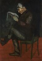 Paul Cezanne, ritratto del padre Louis Auguste