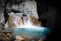 Serre Chevalier Vallée Briançon, canyoning © Zoom