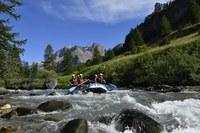 Serre Chevalier Vallée Briançon, rafting © Zoom