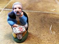 Mas de la Crémade, il viso del saggio è quello del curatore del museo di Carpentras