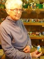 Mas de la Crémade, Magali Montagard nel suo laboratorio di santons