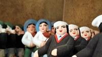 Mas de la Crémade, santons provenzali in primo piano