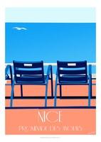 Eric Garence - Nizza, la Promenade des Anglais