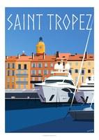Eric Garence - Saint-Tropez, il porto