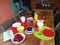 Li Poulidetto - Pane e marmellate fatti in casa per colazione
