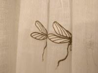 Hotel Canto Cigalo - Le tende di una stanza, particolare