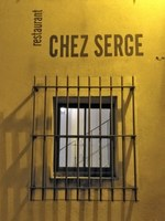 Chez Serge a Carpentras - In arrivo da una stradina laterale