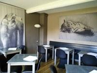 Chez Serge a Carpentras - La sala al piano superiore