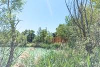 Una palafitta in perfetta armonia con la natura © Cabanes Nature & SPA