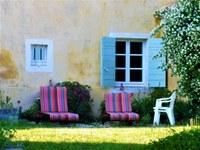 Le Barroux, Mas de la Lause, un angolo relax