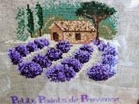 Les petits points de Provence - La lavanda a piccolo punto