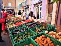 Vaison-la-Romaine, il piacere di fare la spesa al mercato