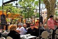 Vaison-la-Romaine, una pausa dopo il mercato
