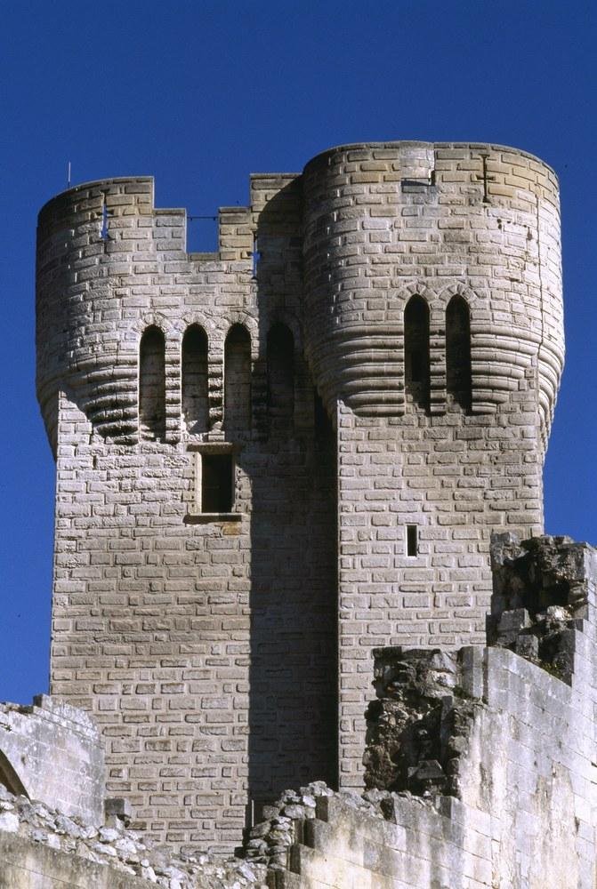 Abbazia di Montmajour, torre del cardinale Pons de l'Orme, Philippe Berthé © CMN, Paris