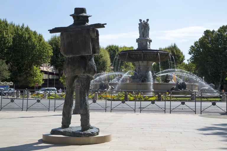 Aix-en-Provence, Cezanne e la Rotonde © Sophie Spiteri