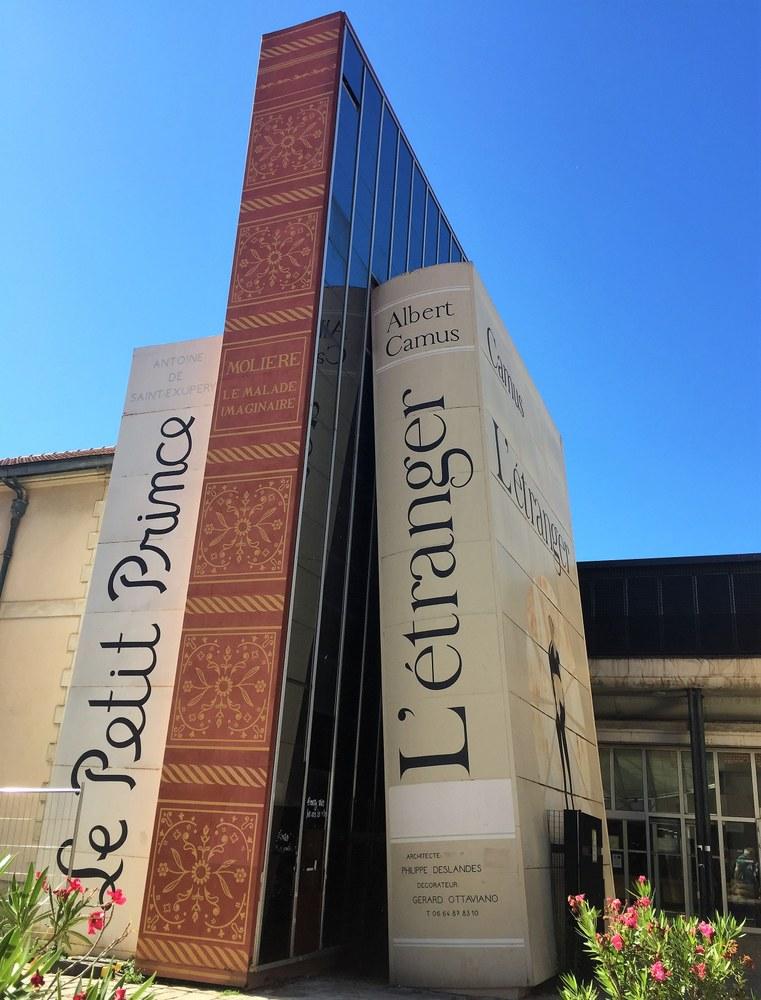 Aix-en-Provence, ingresso biblioteca © Francesca Molinari
