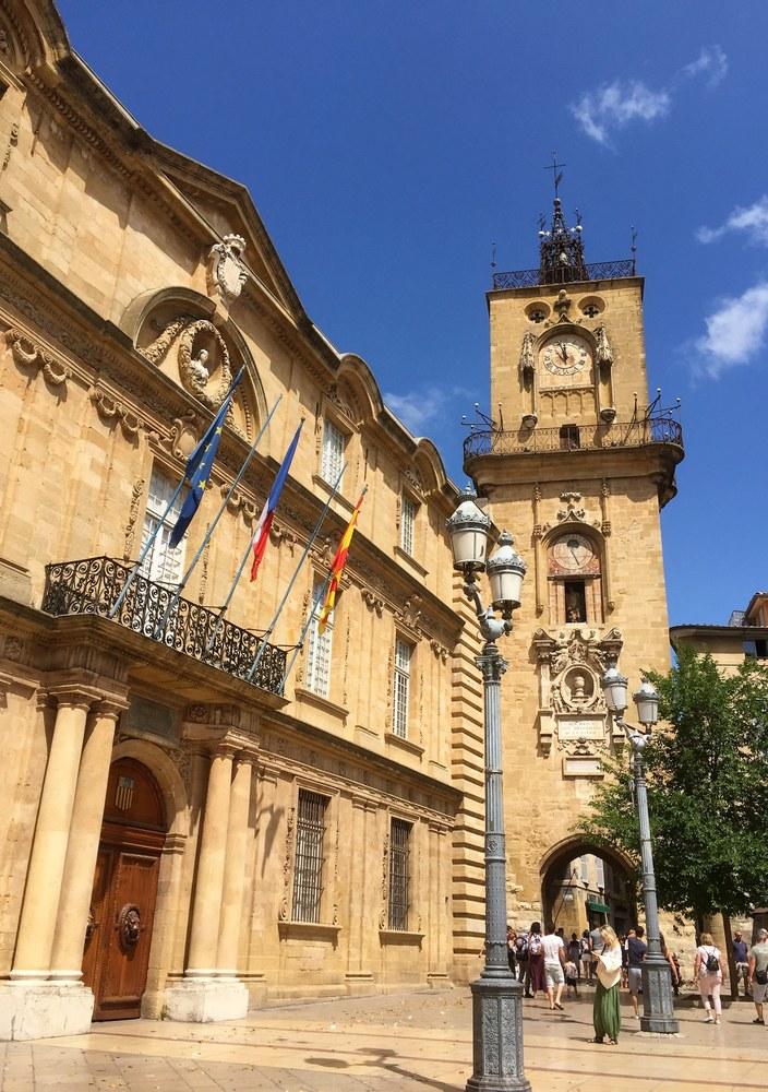 Aix-en-Provence, Piazza del comune © Francesca Molinari