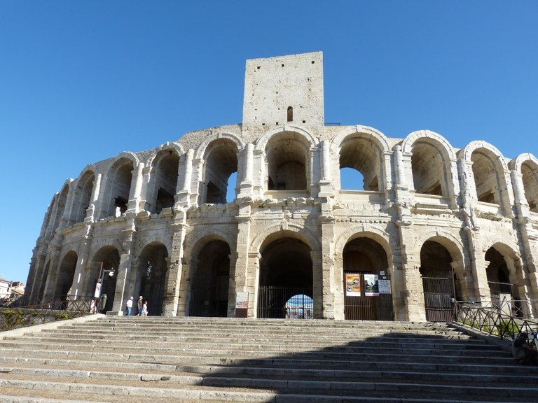 Arles, l'arena © Lionel Roux - OT Arles