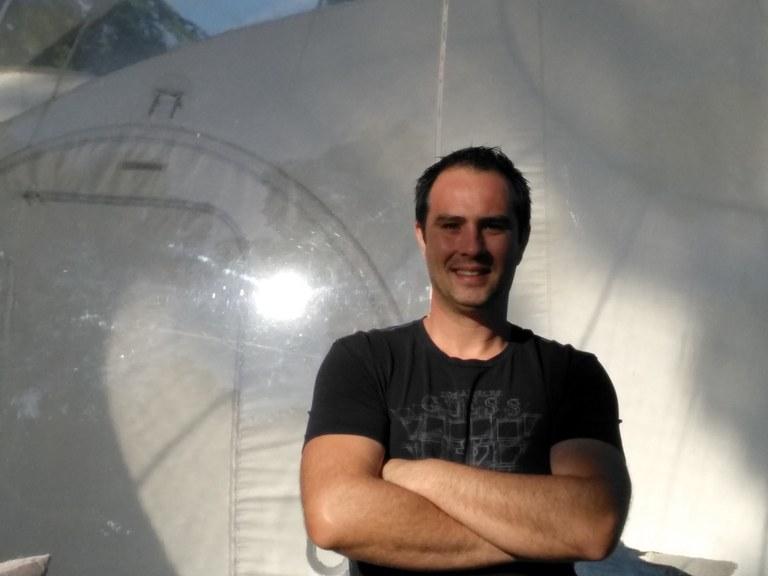Attrapp'Rêves - Bruno Giovansili ha provato la sua prima bolla nel giardino della mamma