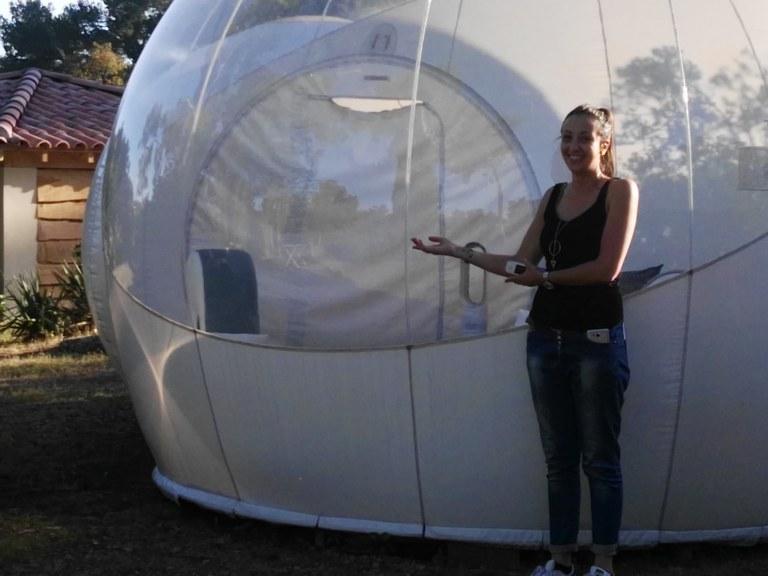 Attrapp'Rêves - Laure presenta la bulle Suite Chic & Design