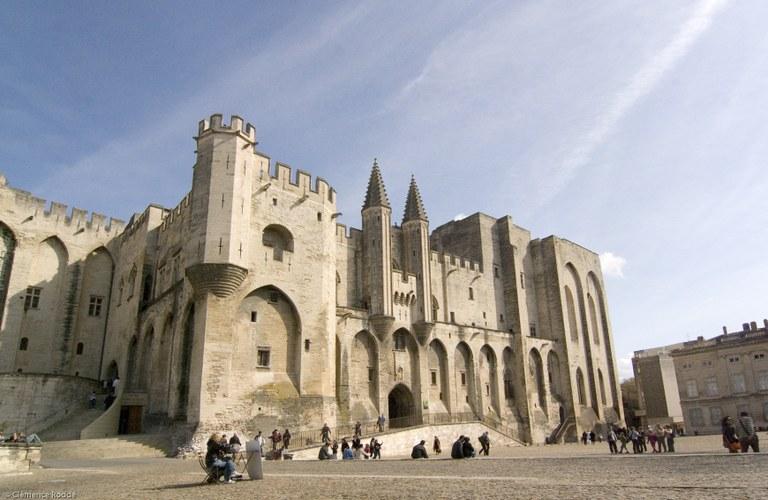 Avignone, Palazzo dei Papi, esterno © C. Rodde