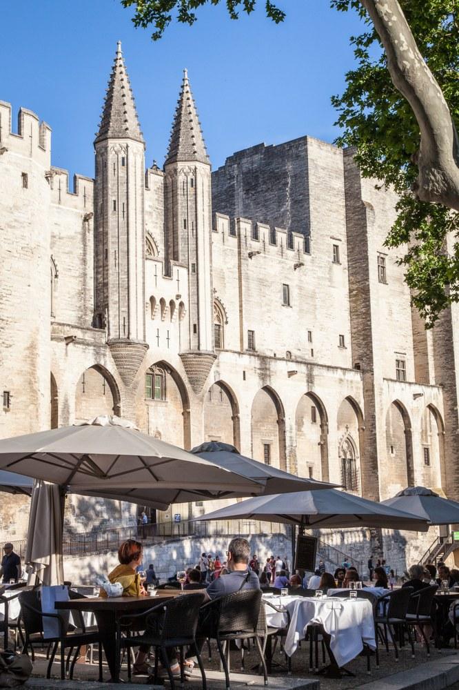 Avignone, Palazzo dei Papi, scorcio © Empreintedailleurs