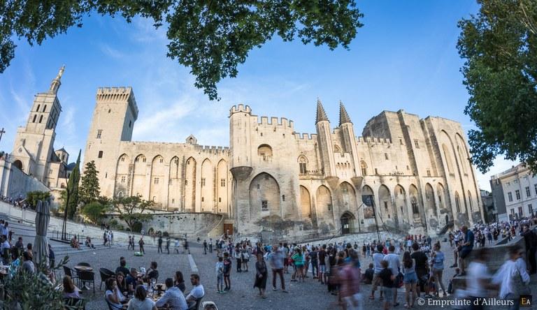 Avignone, Palazzo dei Papi, veduta d'insieme © Empreintedailleurs