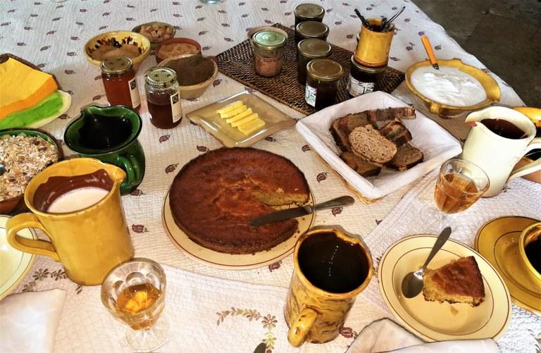Bastide de l'Adrech, le delizie della colazione