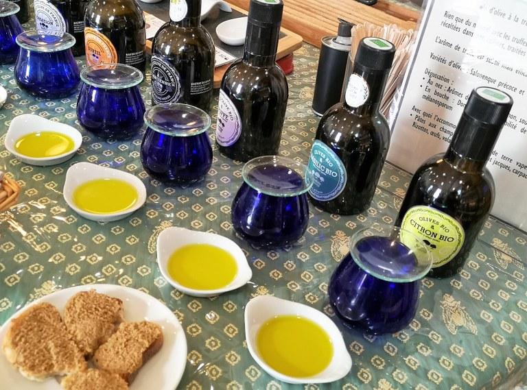 Bastide du Laval, tutto è pronto per degustare l'olio