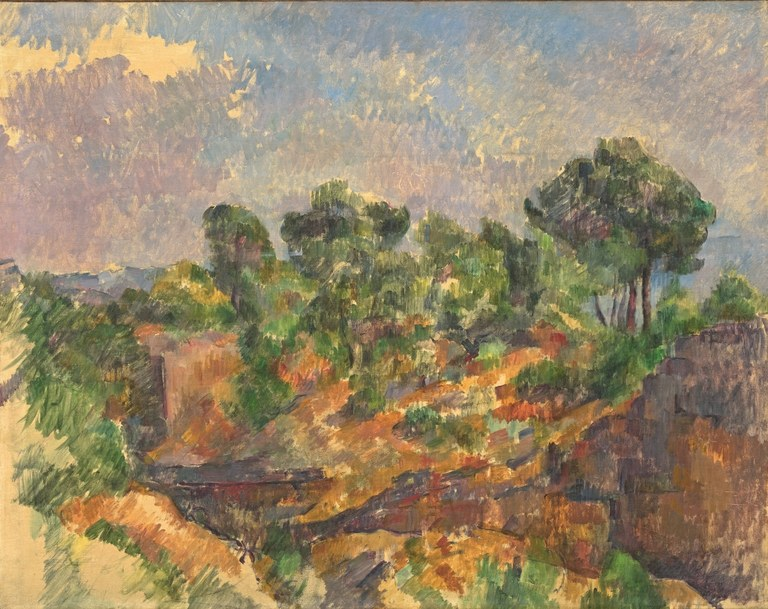 Bibémus, Paul Cézanne, Solomon R. Guggenheim Museum, New York