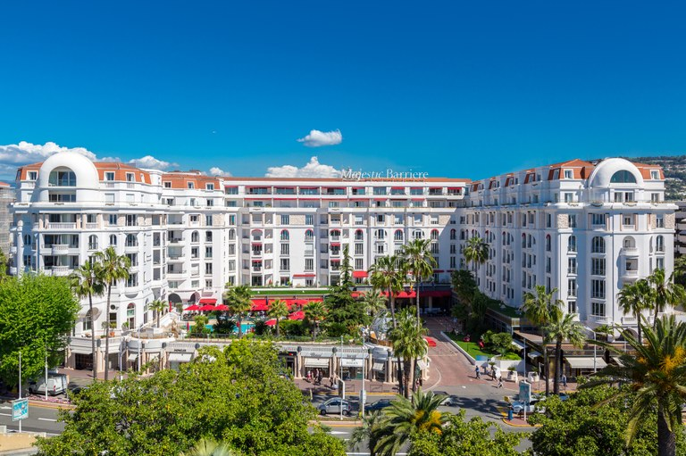 Cannes, Hotel Barrière Le Majestic