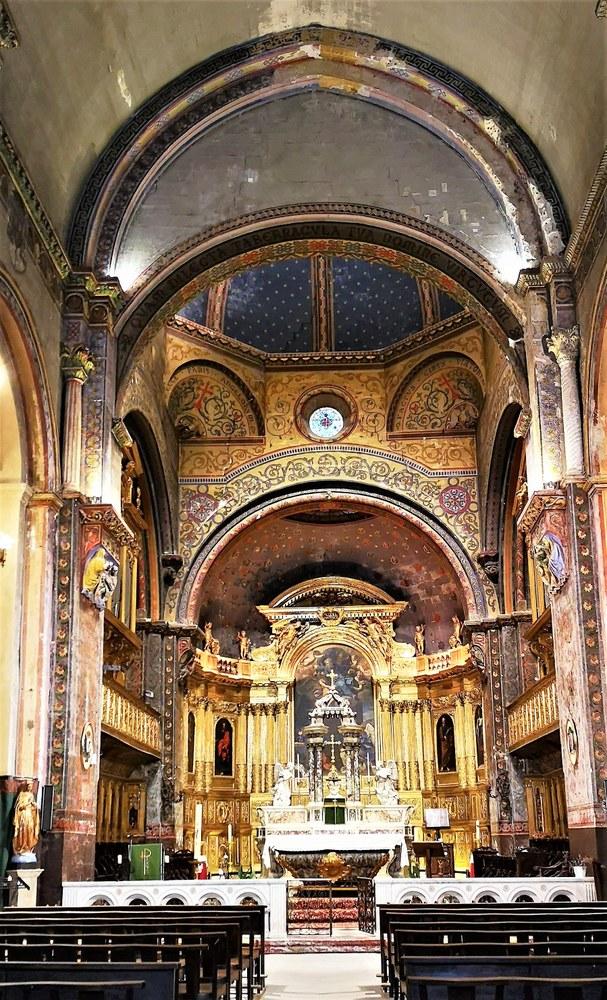 Cavaillon, cattedrale Notre Dame e Saint Véran, interno barocco