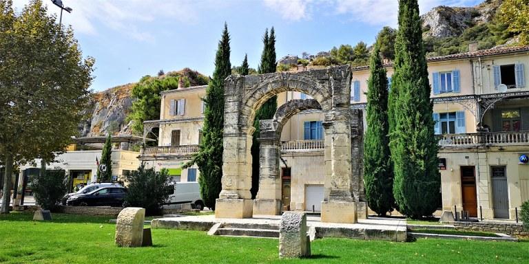 Cavaillon, l'arco romano