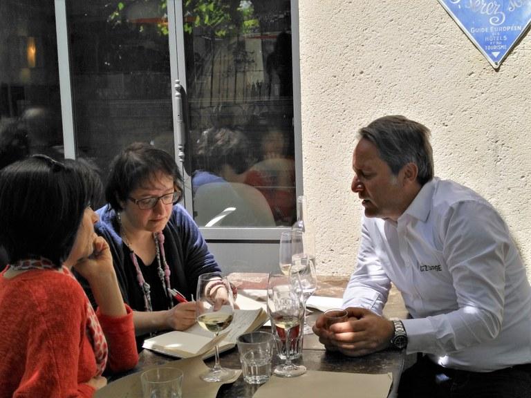 Chez Serge a Carpentras - il super-chef si racconta alla redazione
