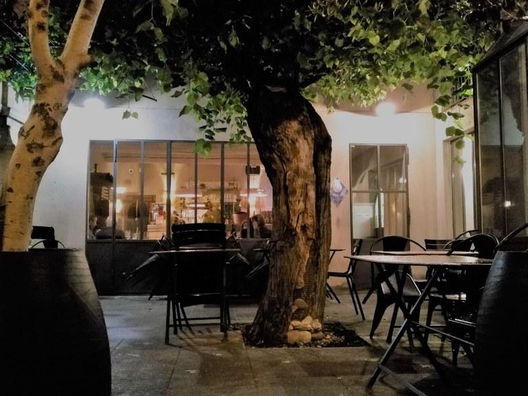 Chez Serge a Carpentras - La terrazza esterna