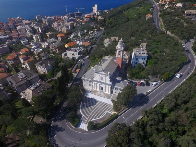 Chiavari - Santuario di Nostra Signora dell'Ulivo di Bacezza © Darko Vittorio Perrone