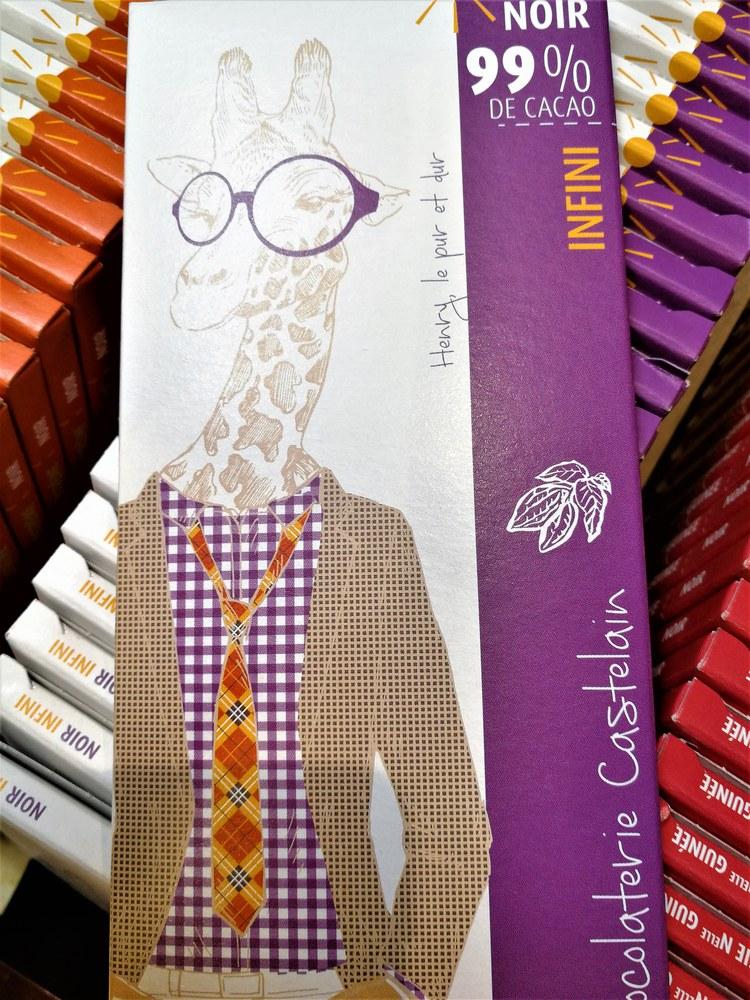 Chocolaterie Castelain, l'eleganza di una tavoletta